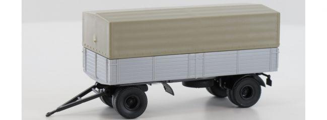BREKINA 55258 2-Achsen Anhänger Economy   Anhängermodell 1:87