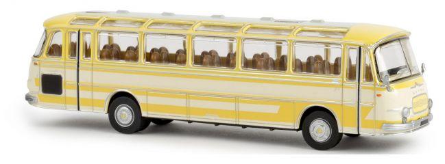 BREKINA 58200 Setra S 12 creme gelb Busmodell 1:87