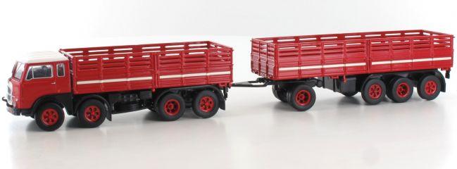 ausverkauft   BREKINA 58407 Fiat 690 Millepiedi rot schwarz   LKW-Modell 1:87