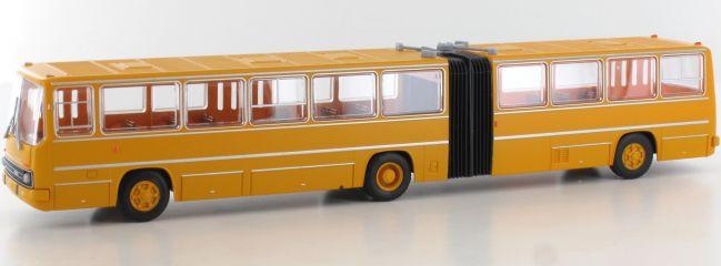 ausverkauft | BREKINA 59700 Ikarus 280 Gelenkbus dunkelgelb | Bus-Modell 1:87