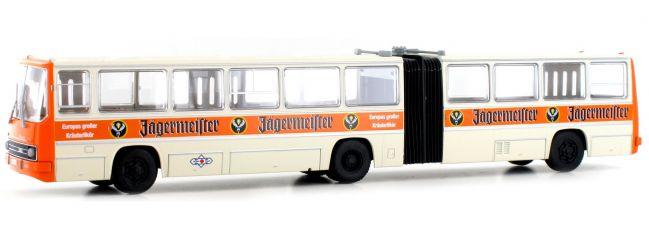 BREKINA 59704 Ikarus 280 Gelenkbus Ostseetrans Jägermeister Bus-Modell 1:87