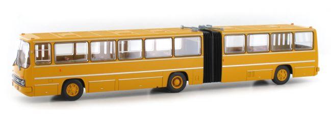 ausverkauft | BREKINA 59706 Ikarus 280 Gelenkbus dunkelgelb | Bus-Modell 1:87