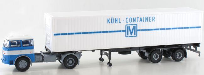 BREKINA 71819 LIAZ 706 Kühl-Container Szg | LKW-Modell 1:87
