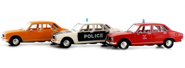 BREKINA 90475 Set mit e Peugeot 504 | Auto-Modell 1:87