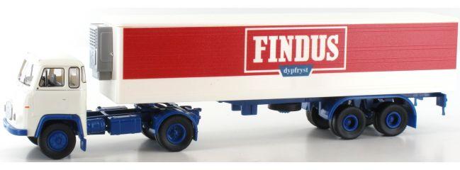 BREKINA 98510 Scania LB 76 Findus Koffer Szg   LKW-Modell 1:87