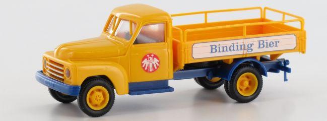 BREKINA 37137 Hanomag L 28 Binding Bier | Auto-Modell 1:87