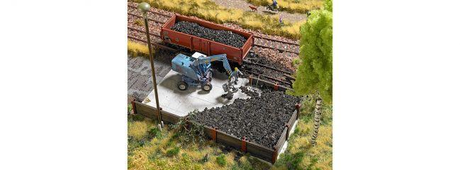 BUSCH 1045 Bekohlung mit Bagger   Bausatz Spur H0