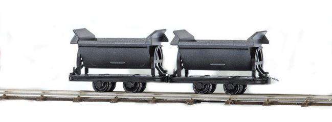BUSCH 12200 Zwei Kipploren | Feldbahn Spur H0f