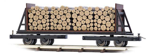 BUSCH 12247 Flachwagen mit Holzladung Feldbahnwagon 1:87