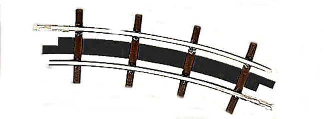 BUSCH 12322 Bogengleis R 115 22,5°  2 Stück   Feldbahn Spur H0f