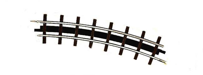 BUSCH 12332 Bogengleis R 175mm 22,5°   2 Stück   Feldbahn Spur H0f