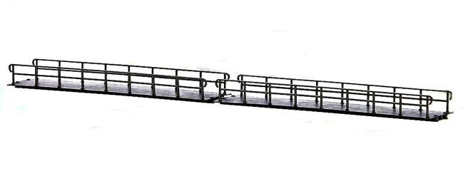 BUSCH 12385 Brücke gerade | 2 Stück | Feldbahn Spur H0f
