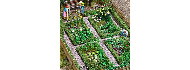 BUSCH 1254 Bauerngarten Bausatz Spur H0