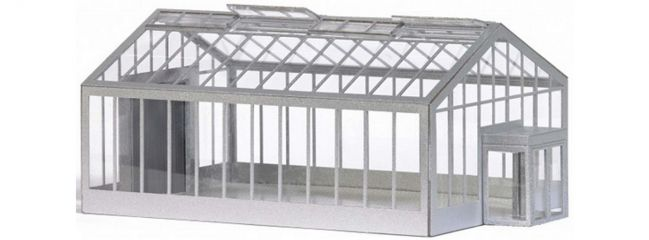 BUSCH 1547 Gartencenter/Gewächshaus | Gebäude Bausatz Spur H0