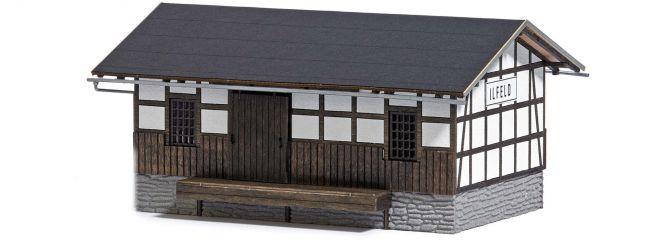 BUSCH 1642 Güterschuppen Ilfeld LaserCut Bausatz 1:87