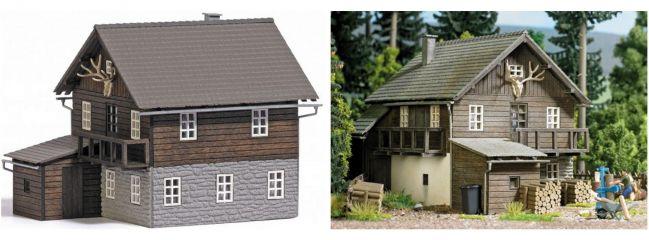 BUSCH 1675 Forsthaus | Gebäude Bausatz H0