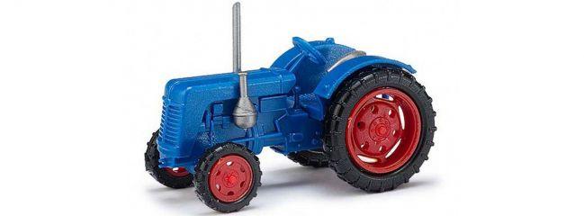 BUSCH 211006701 Traktor Famulus blau Landwirtschaftsmodell Spur N