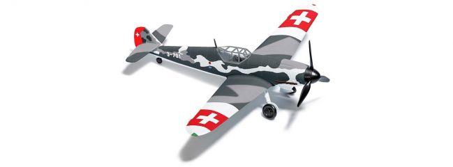 BUSCH 25017 Messerschmitt Bf109 G6 Schweiz Flugzeugmodell 1:87
