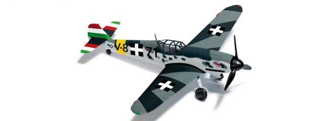 BUSCH 25018 Messerschmitt Bf109 G6 Ungarn Flugzeugmodell 1:87