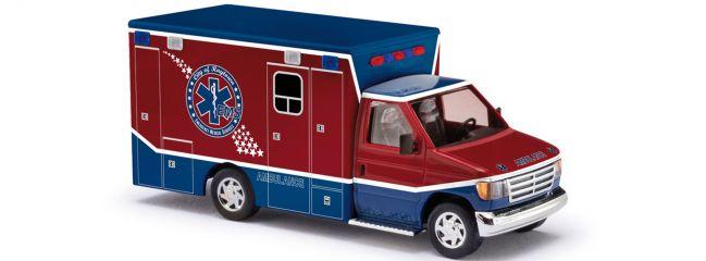 BUSCH 41840 Ford E-350 Raytown Ambulance | Blaulichtmodell 1:87