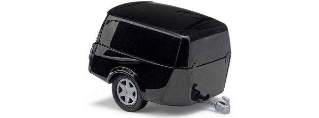 BUSCH 44991 Clevertrailer schwarz | Anhänger-Modell 1:87