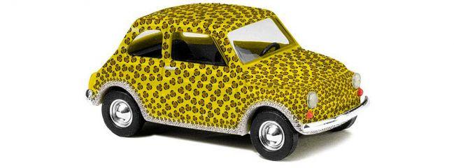 BUSCH 48719 Fiat 500 Leopard Modelllauto 1:87