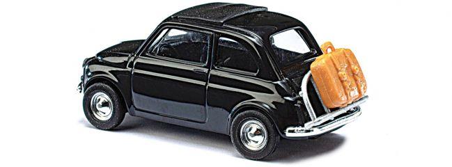 BUSCH 48727 Fiat 500, on Tour | Modellauto 1:87