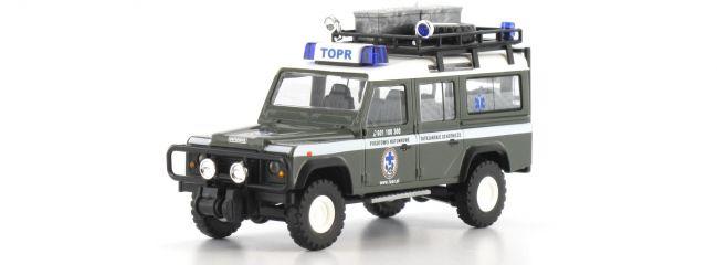 ausverkauft | BUSCH 50390 Landrover Defender | Bergwacht Polen | Modellauto 1:87