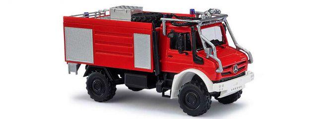 BUSCH 51051 Mercedes-Benz Unimog U 5023 Waldbrandbekämpfung Feuerwehrmodell 1:87