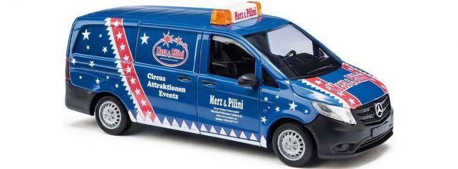 BUSCH 51111 Mercedes Vito Merz und Pilini | Automodell 1:87