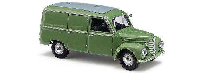 BUSCH 51201 Framo V901/2 Kastenwagen grün Automodell 1:87