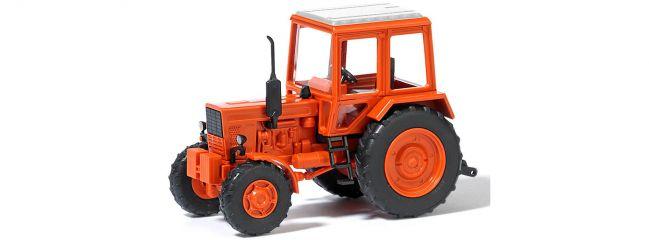 BUSCH 51301 Belarus MTS 82 orangerot | Landwirtschaftsmodell 1:87