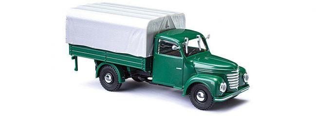 BUSCH 52350 Framo V901/2 Pritsche und Plane grün Automodell 1:87