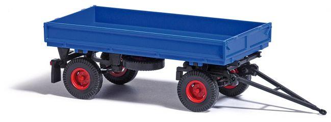 BUSCH 53001 IFA HW60 mit Hochdruckbereifung blau Anhängermodell 1:87