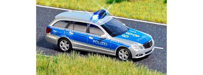 BUSCH 5626 Mercedes-Benz E-Klasse T-Modell Polizei Blaulichtmodell 1:87