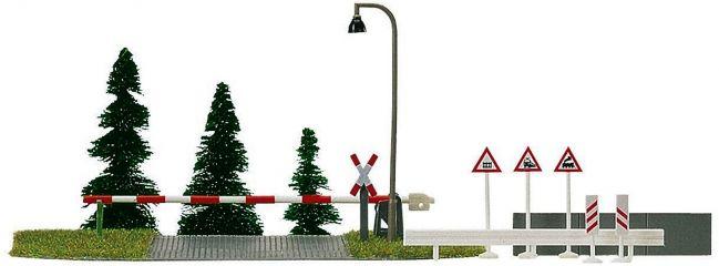 BUSCH 6040 Bahnübergang ohne Funktion Bausatz Spur H0