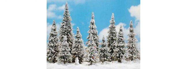 BUSCH 6465 Wintermärchen 10 Bäume mit Zubehör Spur H0