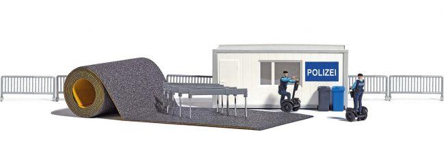 BUSCH 7868 Polizeistation  mit Segways Bausatz 1:87
