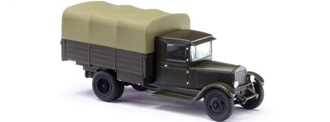 BUSCH 80010 ZiS-5 Sowjetischer Militärlastwagen | Militaria-Modell 1:87