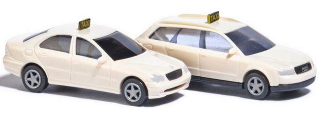 BUSCH 8341 Taxi-Set 2 Fahrzeuge | Automodelle 1:160