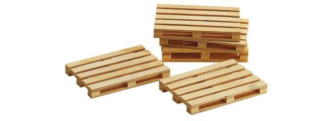 BUSCH 8615 Holzpaletten  5 Stück Fertigmodelle Zubehör für Spur G