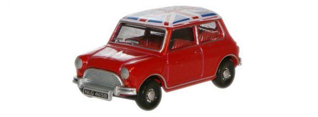 BUSCH 200692370 Austin Mini rot Union Jack Automodell 1:160