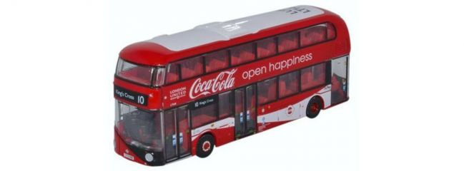 OXFORD 200120327 London Bus New Routemaster London United Coca Cola Busmodell 1:160 online kaufen