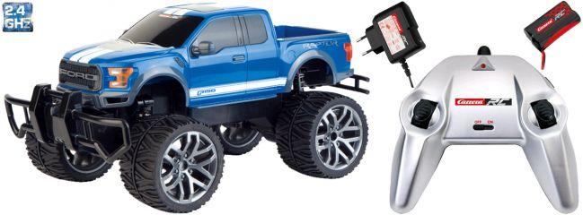 ausverkauft | Carrera 142026 Ford F-150 SVT Raptor RC-Auto | blau | 2,4 GHz | RTR | 1:14