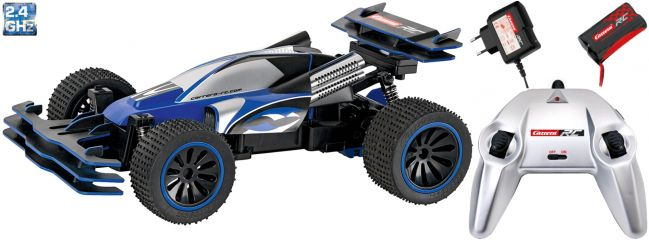 Carrera 162055 Blue Jumper Buggy RC-Auto 2.4GHz | RTR | 1:16