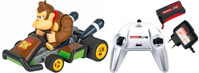 Carrera 162063 Mario Kart 7, Donkey Kong RC-Kart | RTR | 2,4 GHz | 1:16