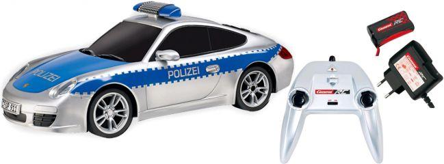 Carrera 162092 Porsche 911 Polizei Blaulicht RC-Auto | 2,4GHz | RTR | 1:16