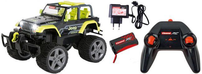 Carrera 162104 Jeep Wrangler Rubicon RC-Auto | mit Seilwinde | RTR | 2,4GHz | 1:16