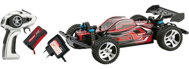 Carrera 183002 Red Fibre RC-Buggy | Carrera Profi | RTR | 2,4GHz | 4WD | 1:18