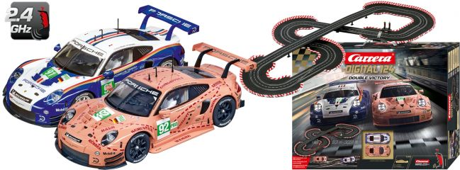 Carrera 23628 Digital 124 Double Victory | WIRELESS+ | Autorennbahn 1:24